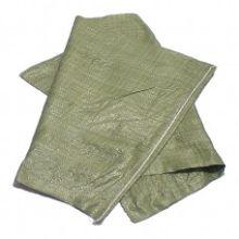Полипропиленовые мешки для мусора (до 50 кг, зеленые)
