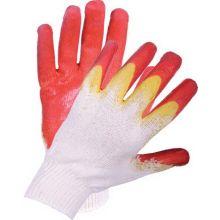Перчатки трикотажные х/б с латексным покрытием 13 кл. (2 облив)